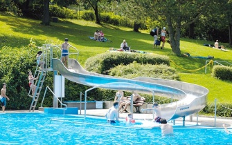 Slide Outdoor Pool Gärtringen