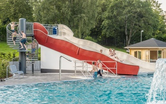 Slide Outdoor Pool Herscheid