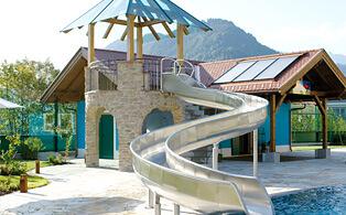 Slide Hotel Pool St. Johann
