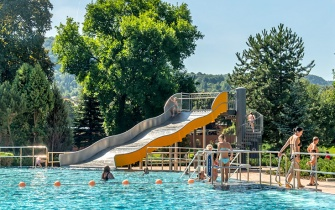 Slide Outdoor Pool Jena