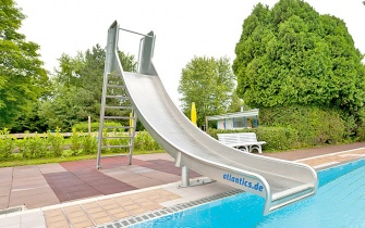 Slide Outdoor Pool Bad König