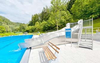 Slide Outdoor Pool Bad Teinach