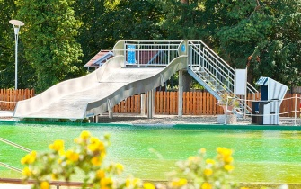 Slide Outdoor Pool Blankenburg