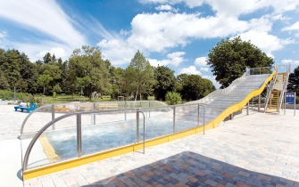 Slide Outdoor Pool Eichendorf