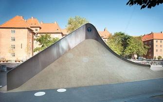Slide Guldberg Skolen Copenhagen