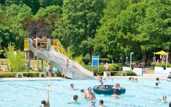 Slide Outdoor Pool Remchingen
