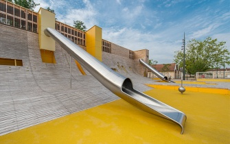 Slide Parc Blandan Lyon