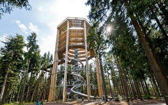 Slide Tree Top Walk Lipno