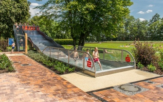 Slide Outdoor Pool Versmold