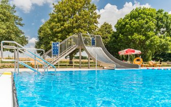 Slide Outdoor Pool Aub