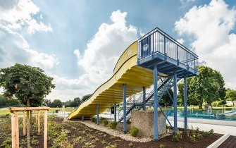 Slide Outdoor Pool Hofheim