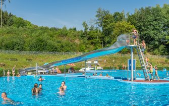Slide Outdoor Pool Nastätten