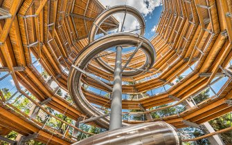 Slide Tree Top Walk Bad Wildbad