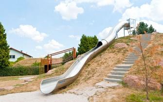 Rutsche Spielplatz Leopoldshafen