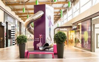 Rutsche Einkaufszentrum Le Havre
