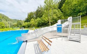 Rutsche Freibad Bad Teinach