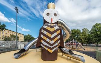 Rutsche Spielplatz Stockholm