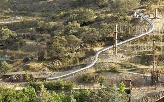 Rutsche Abenteuerpark Enciso