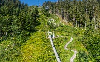 Rutsche Waldrutschenpark-Golm Tschagguns