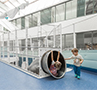Indoor Slides – Hospital Stuttgart