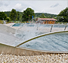 Wide Water Slides – Outdoor Pool Biebergemünd