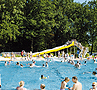 Wide Water Slides – Outdoor Pool Freilassing
