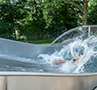 Wide Water Slides – Outdoor Pool Seelbach
